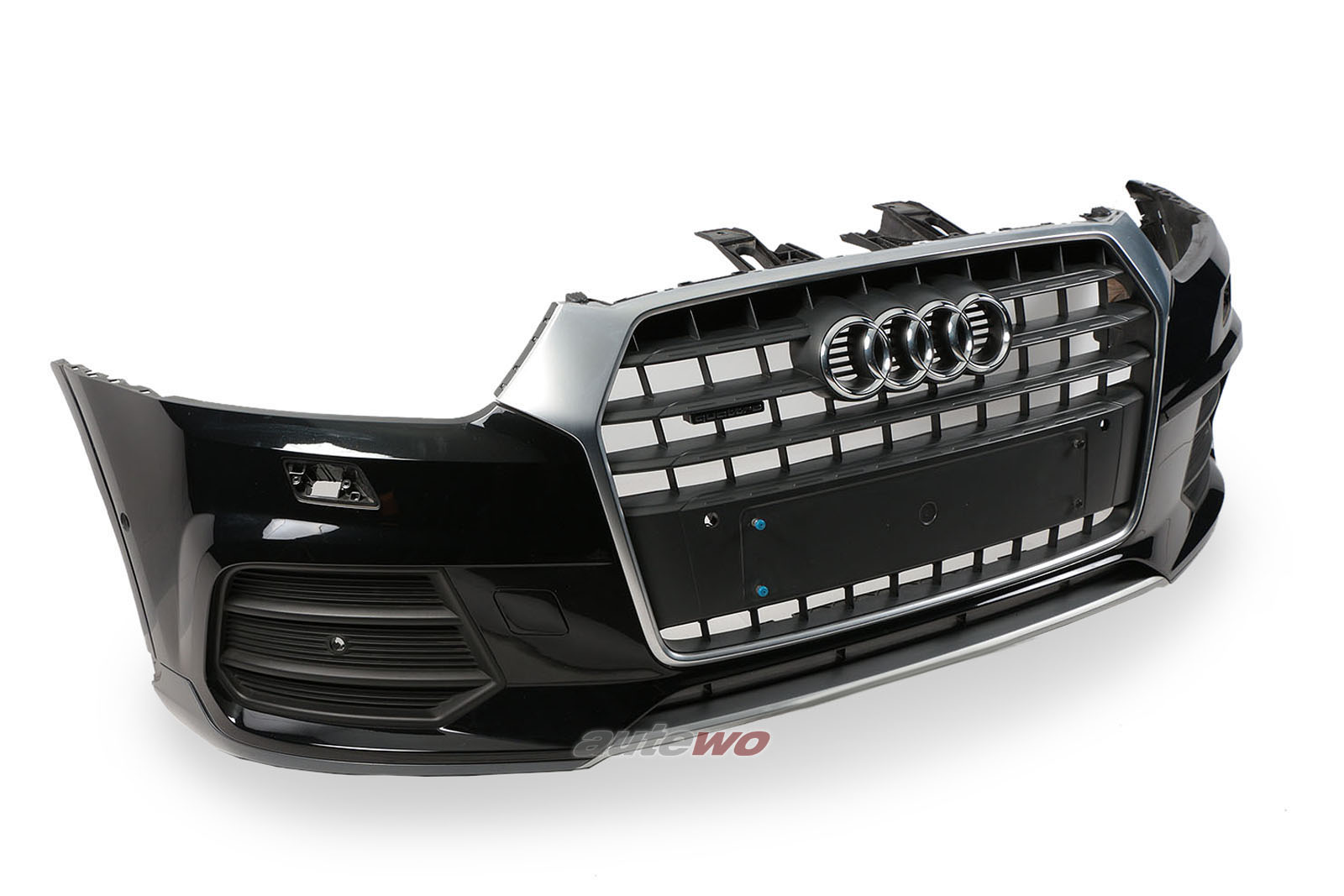 8U0807065L Audi Q3 8U Stoßstange vorne LY9T Mythosschwarz-metallic