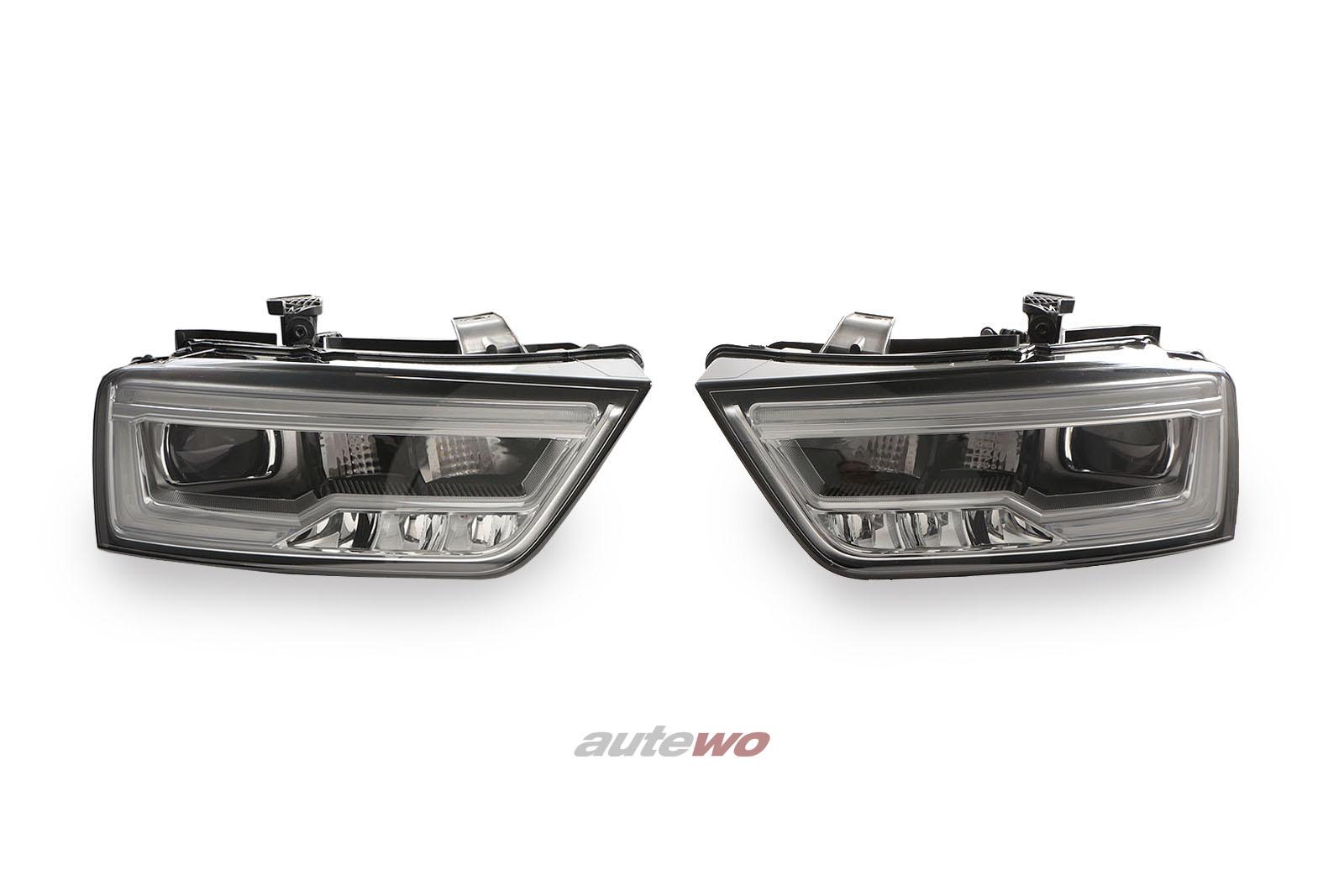 8U0941033/8U0941034 Audi Q3 8U Xenon LED Scheinwerfer Links & Rechts