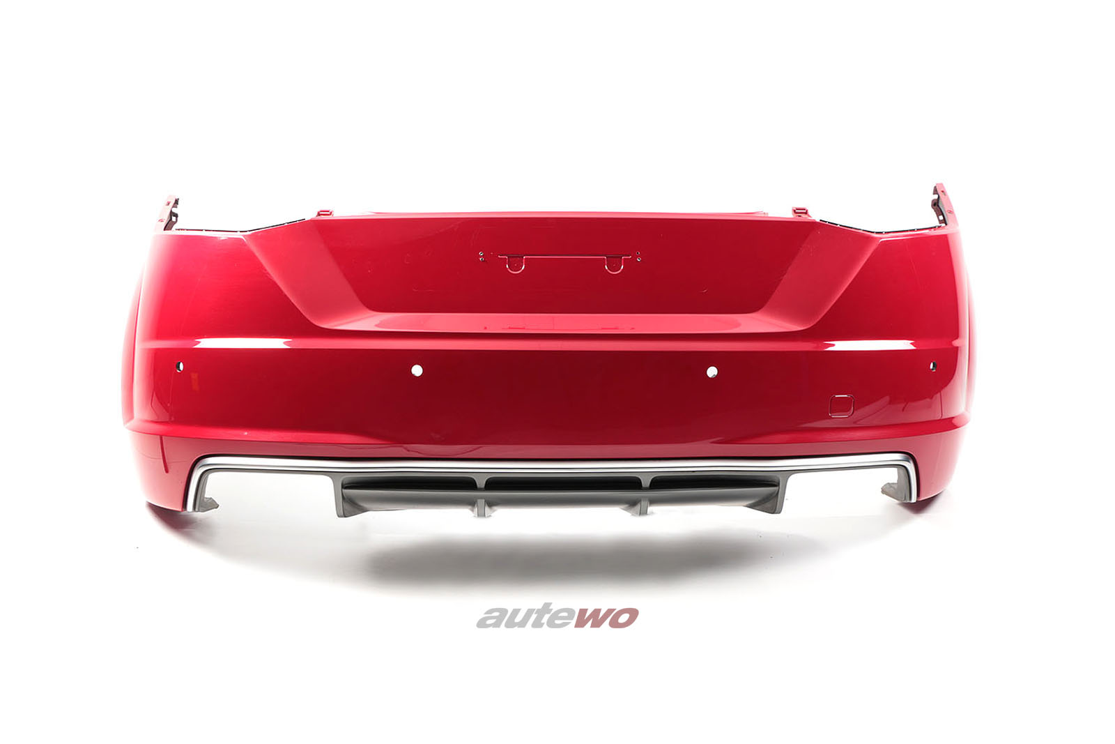 8S0807067D Audi TTS 8S Stoßstange hinten LY3U Tangorot-metallic