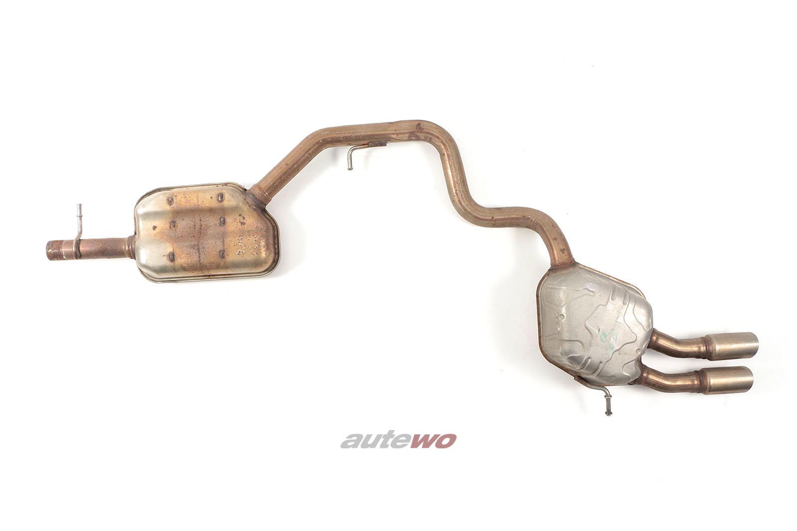 5N0253611H/5N0253411H Audi Q3 8U 2.0l TDI Abgasanlage komplett