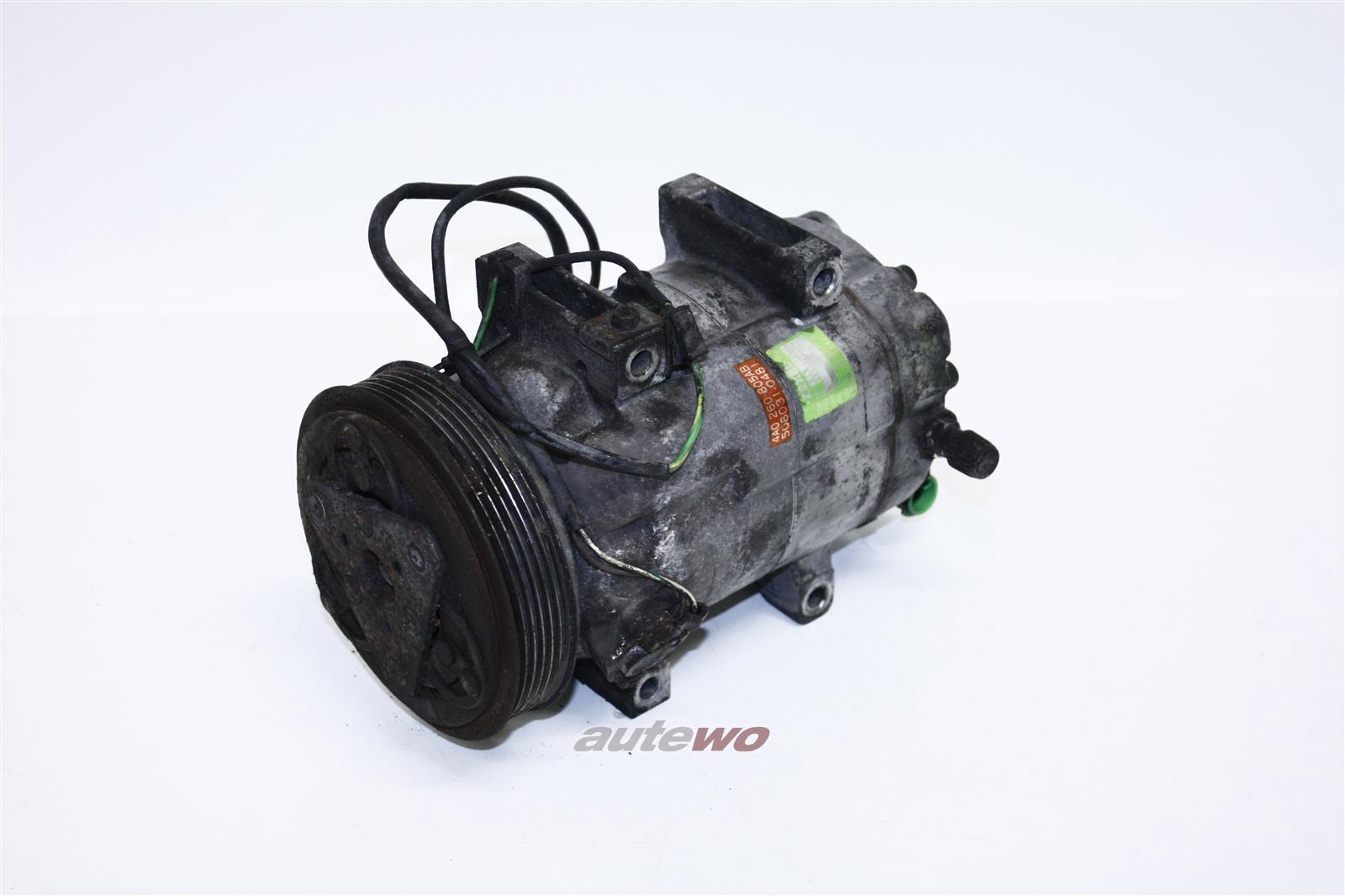 Audi 80 B4/100 C4 6 Zylinder Klima-Kompressor R134A Zexel 4A0260805AH 4A0260805AB