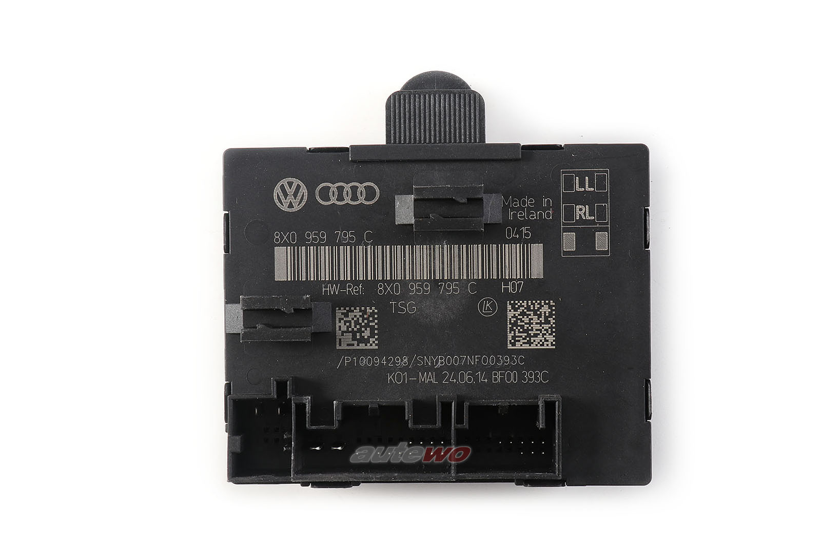 8X0959795C Audi Q3/RSQ3 8U Türsteuergerät hinten links/rechts