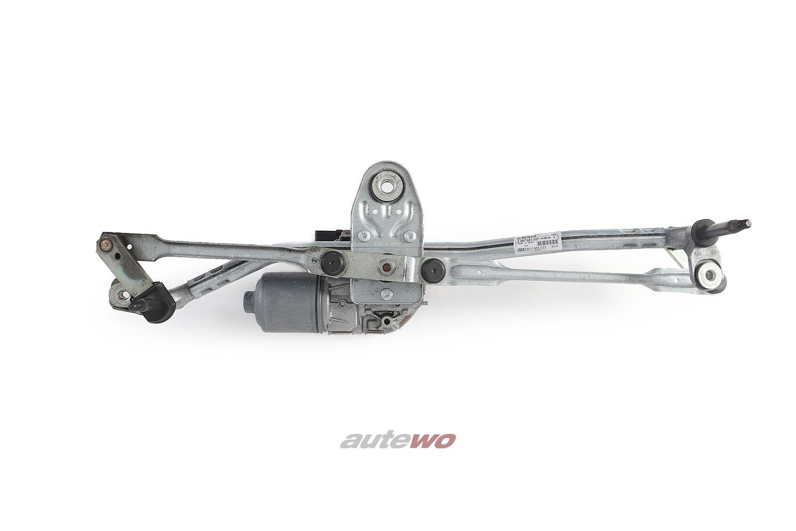 8U1955023 Audi Q3/RSQ3 8U Scheibenwischeraufnahme mit Wischermotor