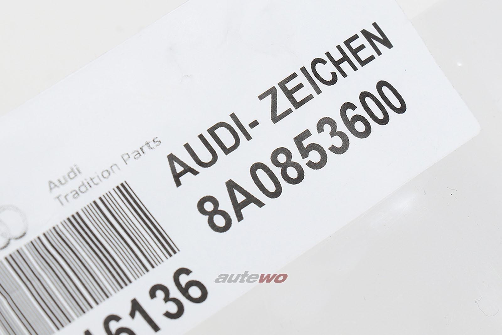 8A0853600 NEU Audi RS2 P1 original Audi-Zeichen/Ringe Kühlergrill   eBay