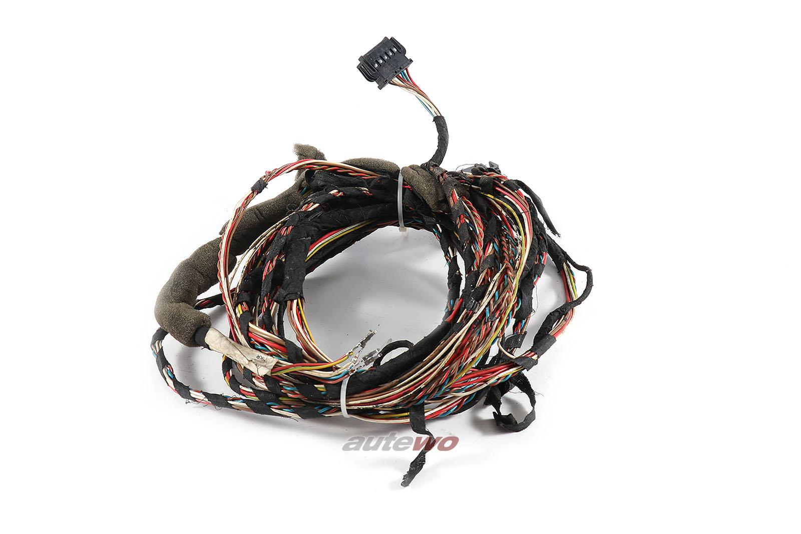 893971071CC Audi 90/Coupe Typ 89 5 Zylinder Kabelbaum Beleuchtung Vorne