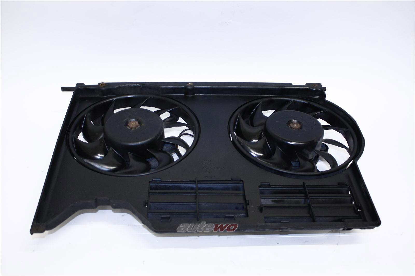 Audi 80 B4 2.6-2.8l Elektrolüfter + Lüfterring 2x 4A0959455B & 8A0121207A