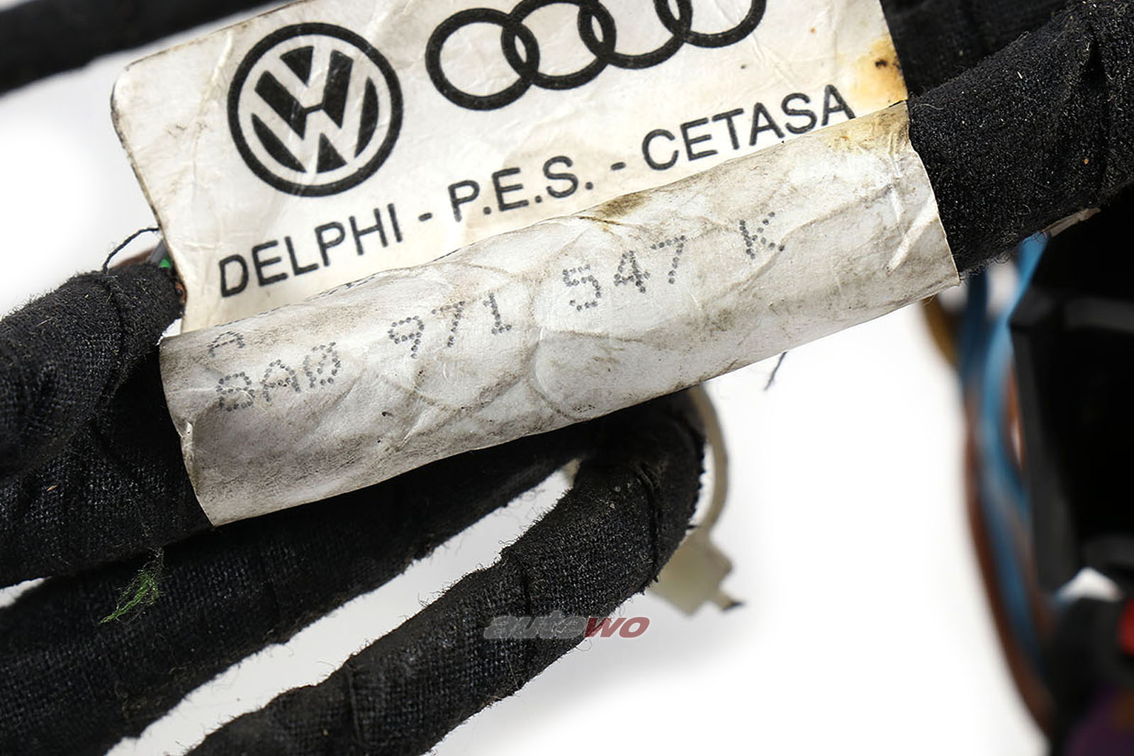 8A0971547K Audi 80 B4/S2/RS2/Coupe Typ 89 Kabelbaum Klimakasten manuelle Klima