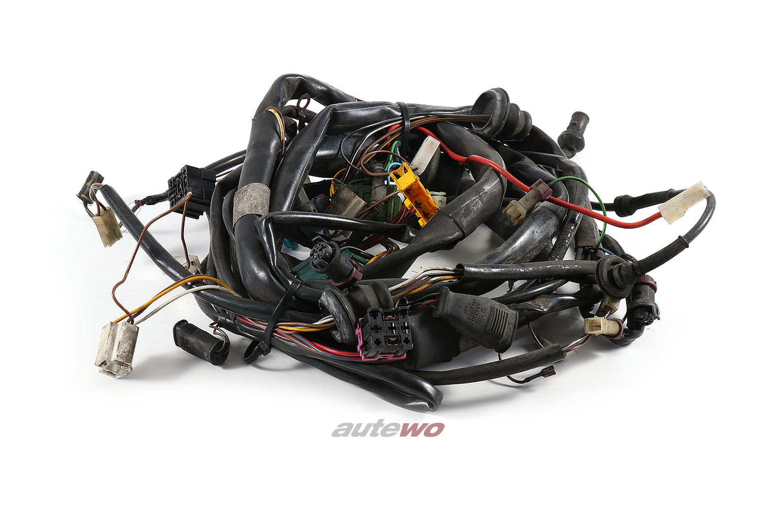 443971071AA Audi 100 Typ 44 Kabelbaum Beleuchtung vorne mit Checksystem