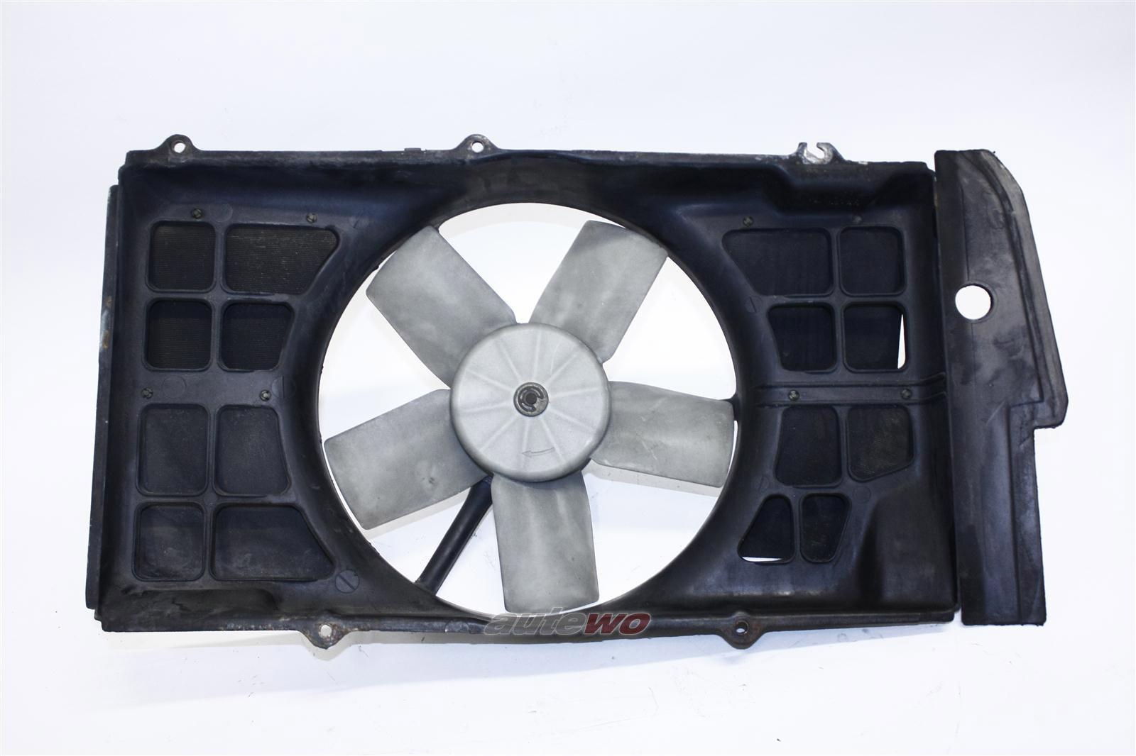 Audi 100/200 Typ 44 2.0-2.3l Elektrolüfter + Lüfterring 443959455D & 443121207