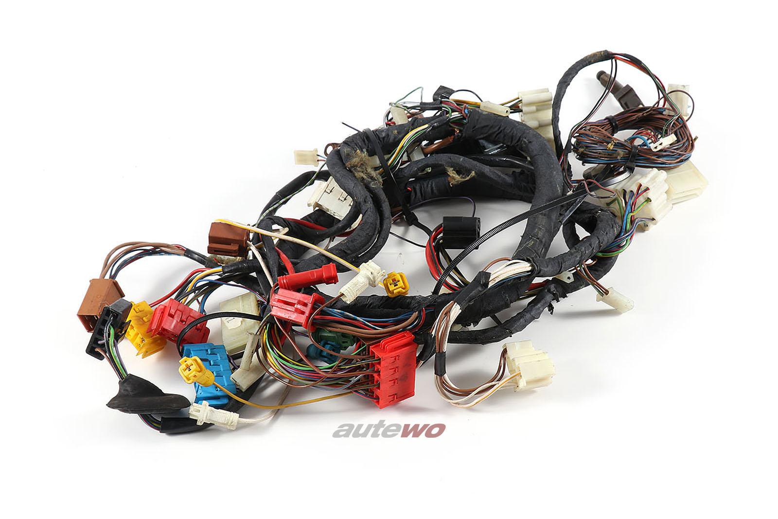 443971569 Audi 100 Typ 44 Kabelbaum Klimatronic Innenraum