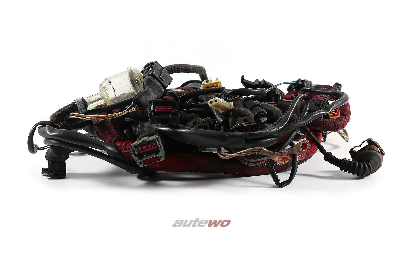 443971713G Audi 100/200 Typ 44 2.2l 5 Zylinder 10V Turbo MC2 Motorkabelbaum