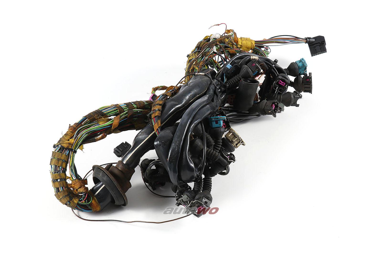 4A1971072JM Audi A6 C4 2.6l V6 ABC Motorkabelbaum Schaltgetriebe