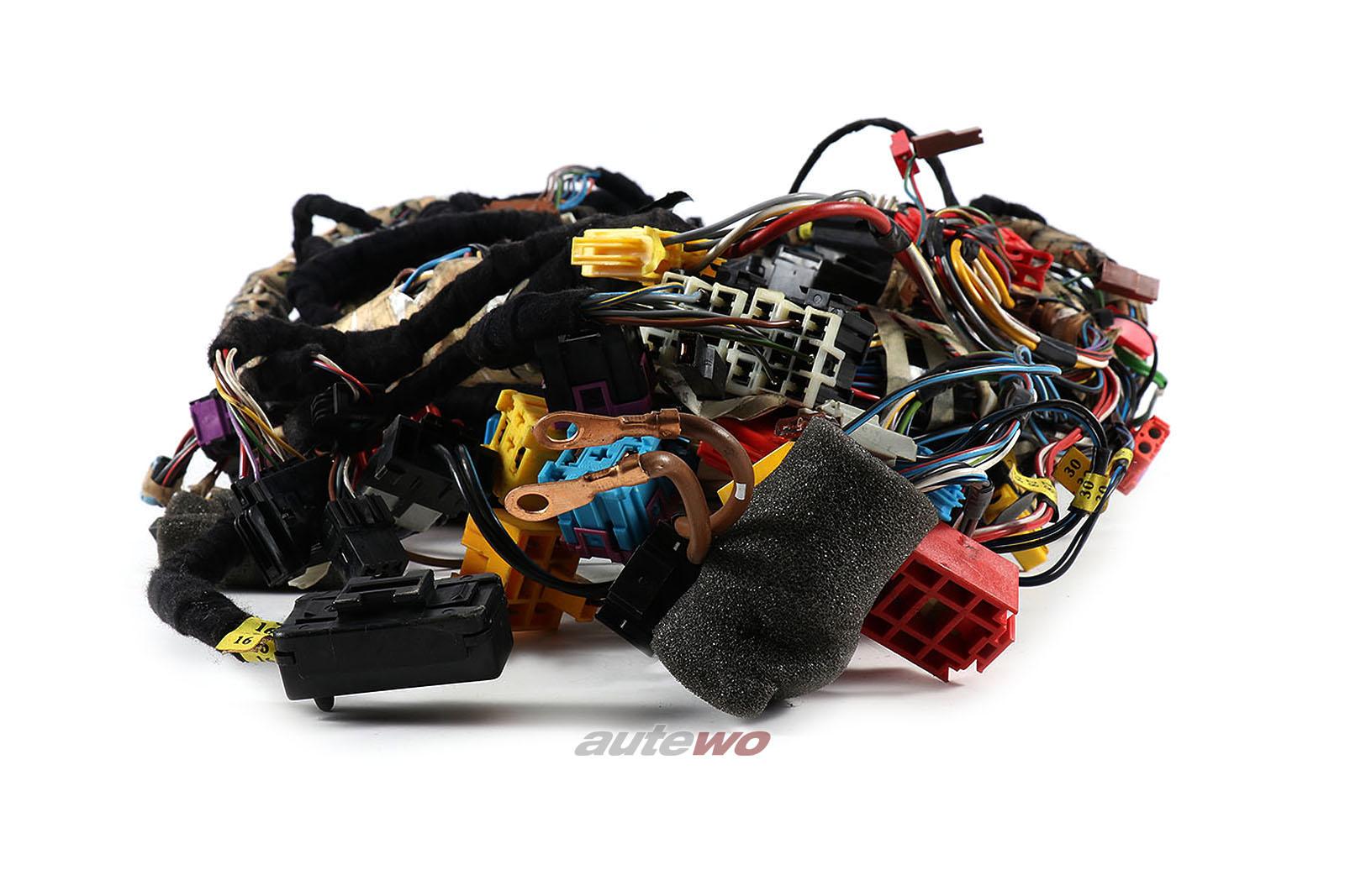 441971315CL Audi V8 D11 3.6/4.2l 8 Zylinder PT/ABH Kabelbaum Zentralelektrik