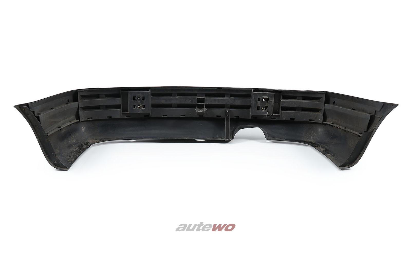 8G0807085 Audi 80 Cabrio Typ 89 Heckstoßstange Schwarz