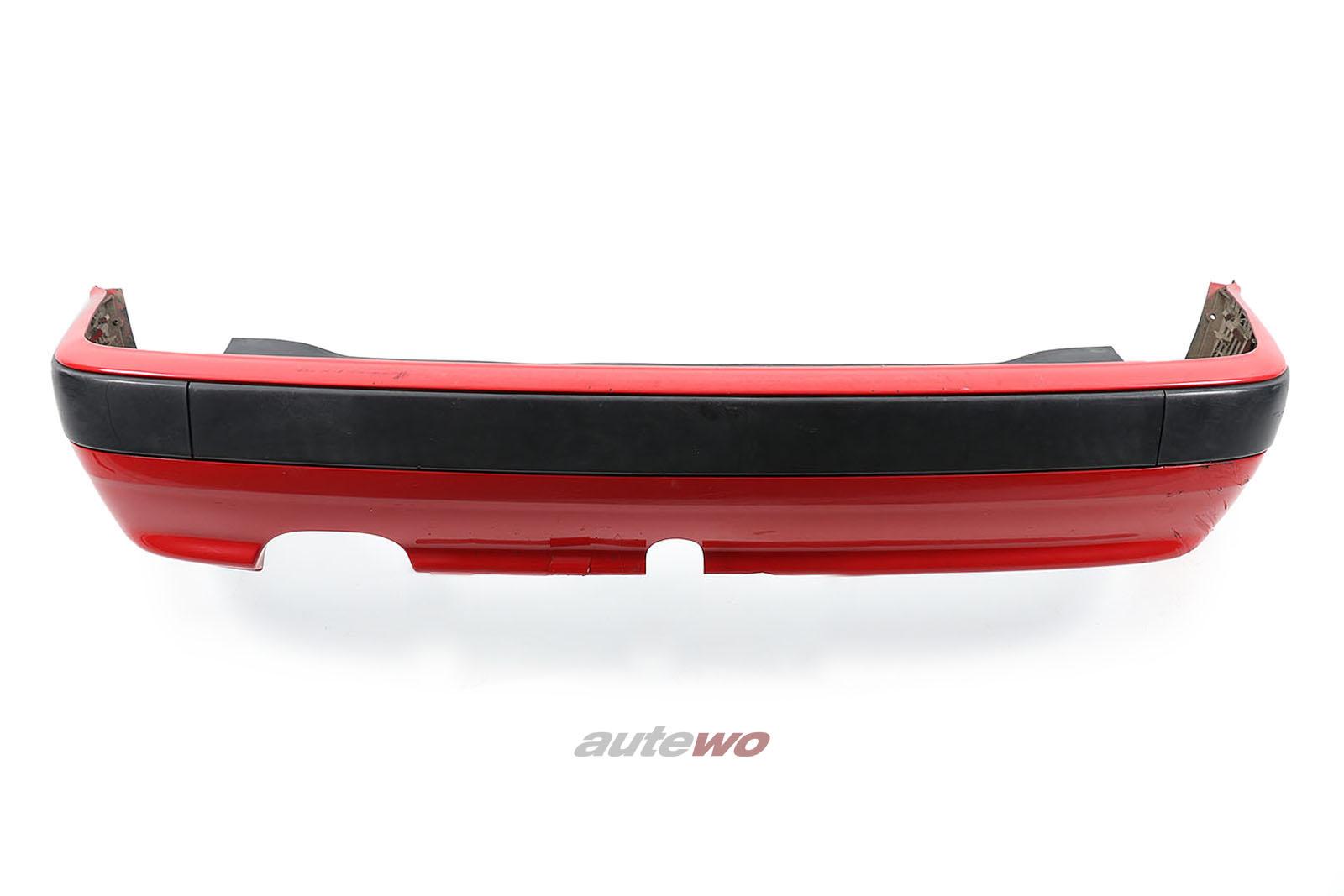 8A0807305AE Audi 80 B4 Heckstoßstange Rot
