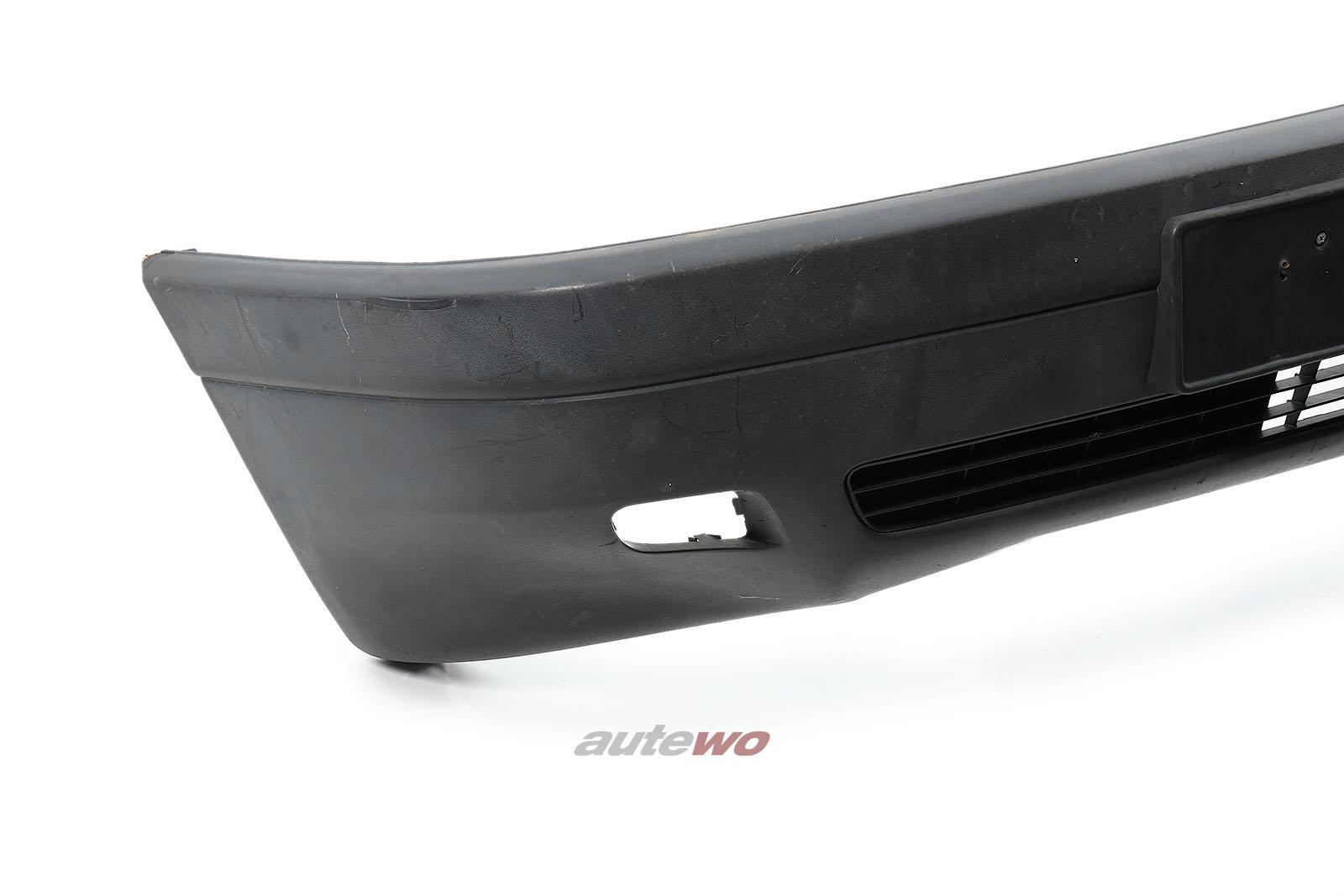 893807101 Audi 80 Typ 89 Limousine Frontstoßstange Schwarz Matt
