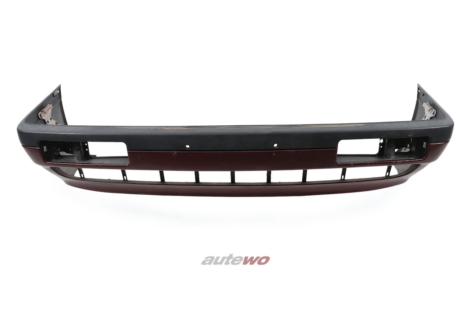 811807229M Audi 90/Coupe Typ 81/85 Limousine/Coupe Frontstoßstange Rot