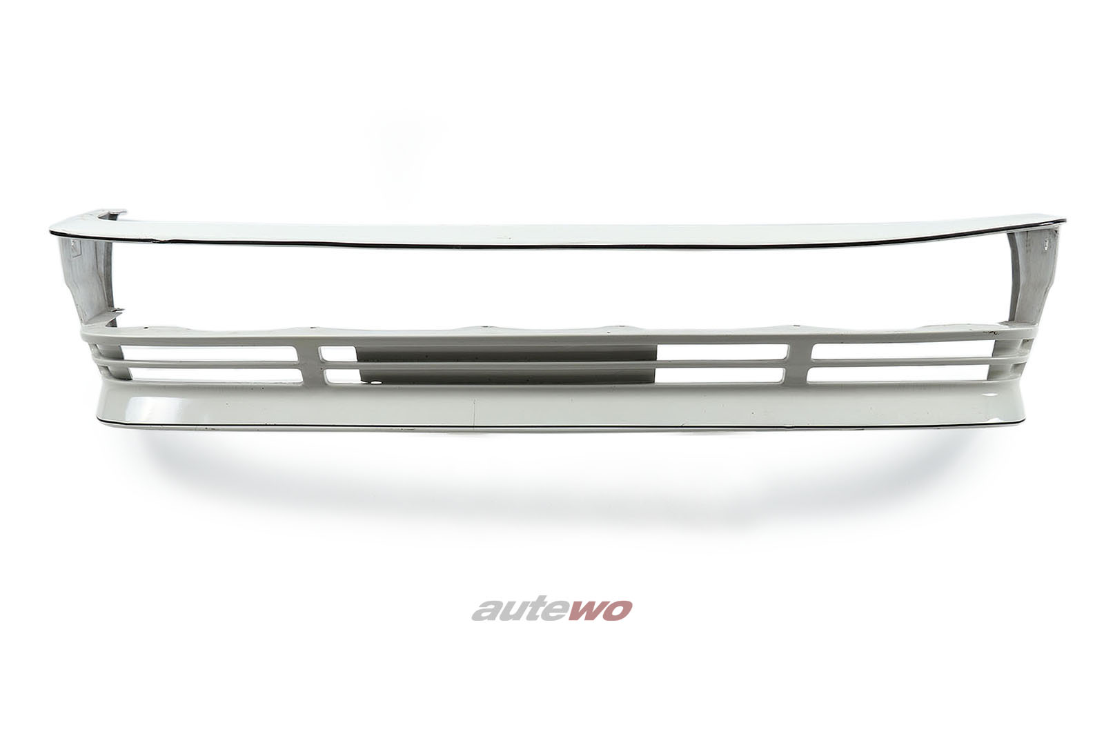 857807855 Audi Urquattro Typ 85 Rahmen Frontstoßstange Weiß