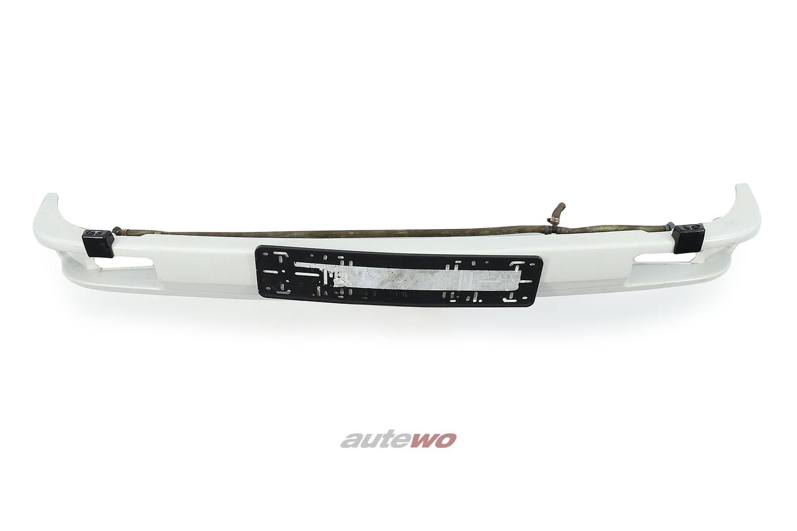 857807237 Audi Urquattro Typ 85 Träger Frontstoßstange Weiß