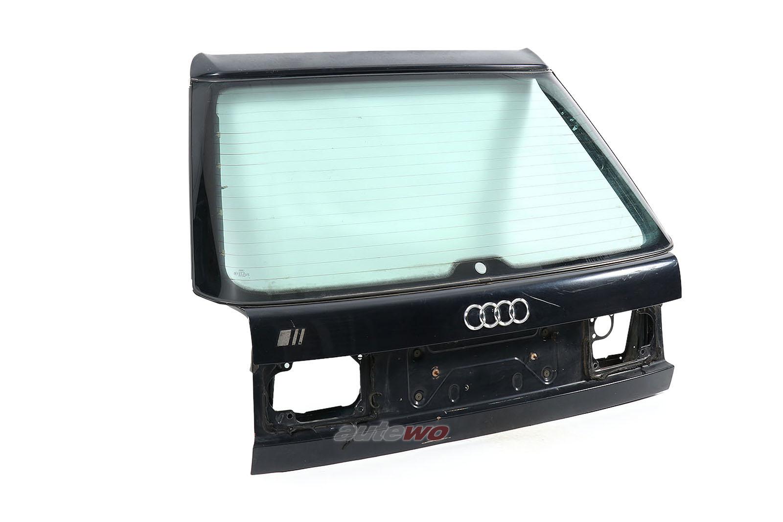 4A9827023AA/4A9845501CQ Audi 100/S4/A6/S6+ C4 Avant Heckklappe dunkelblau