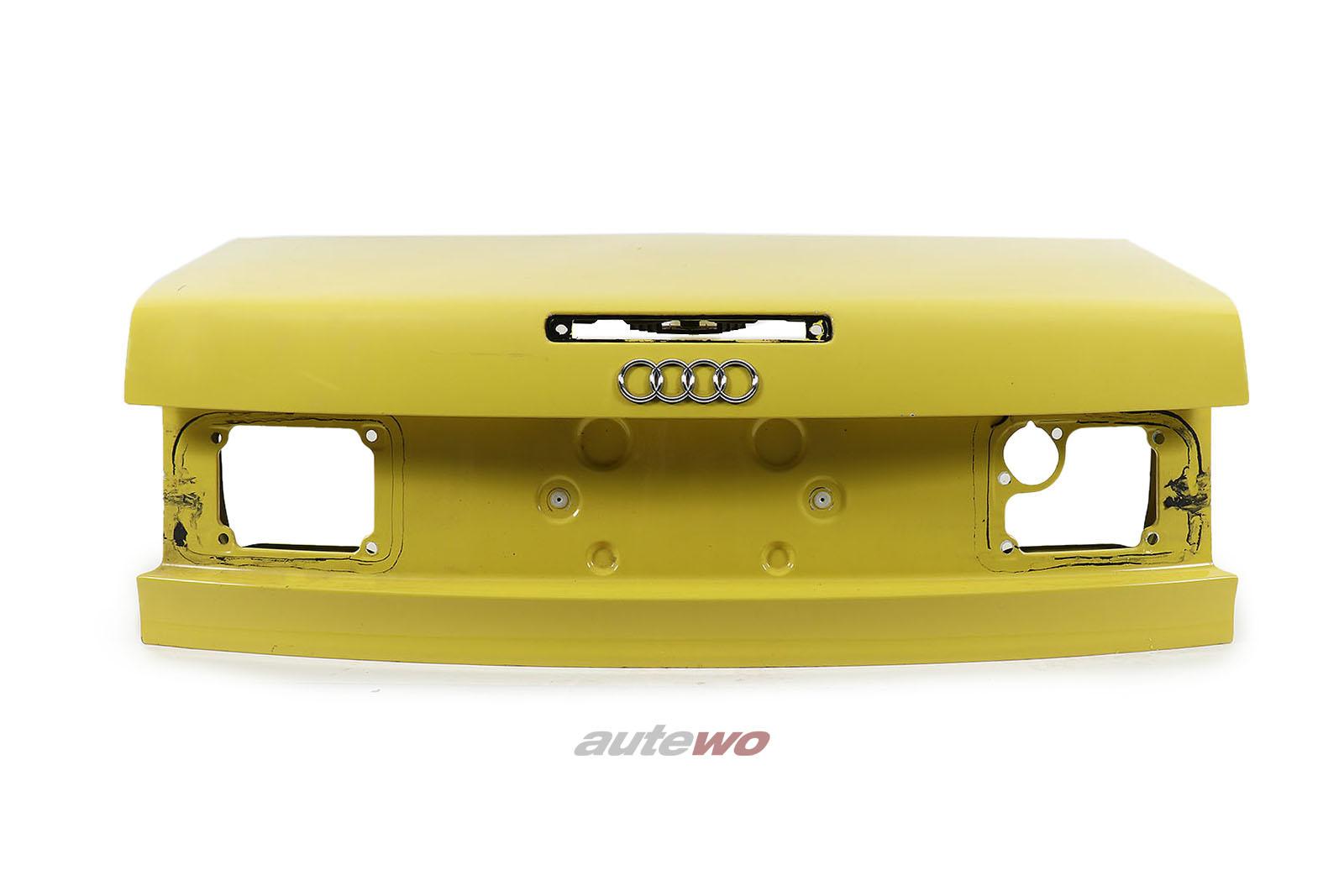 8G0827023G Audi 80 Typ 89 Cabrio Facelift Heckklappe + 3. Bremsleuchte gelb