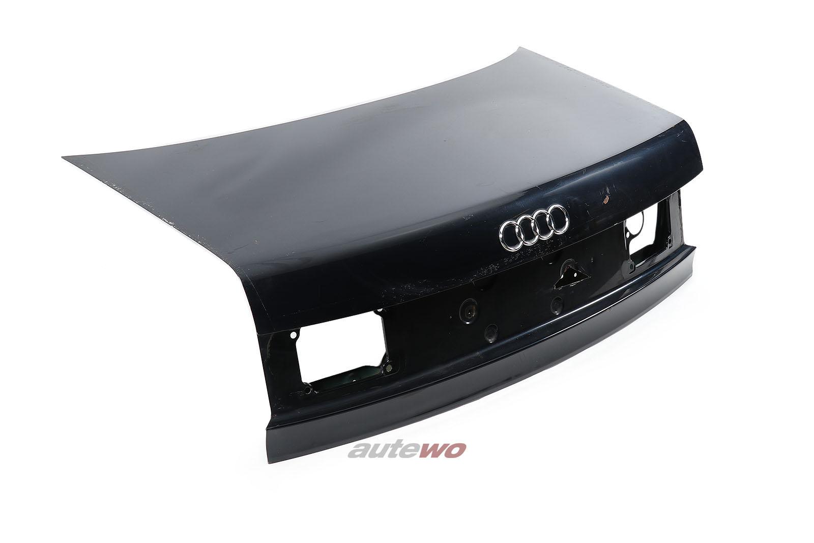8G0827023F Audi 80 Typ 89 Cabrio Heckklappe Schwarz