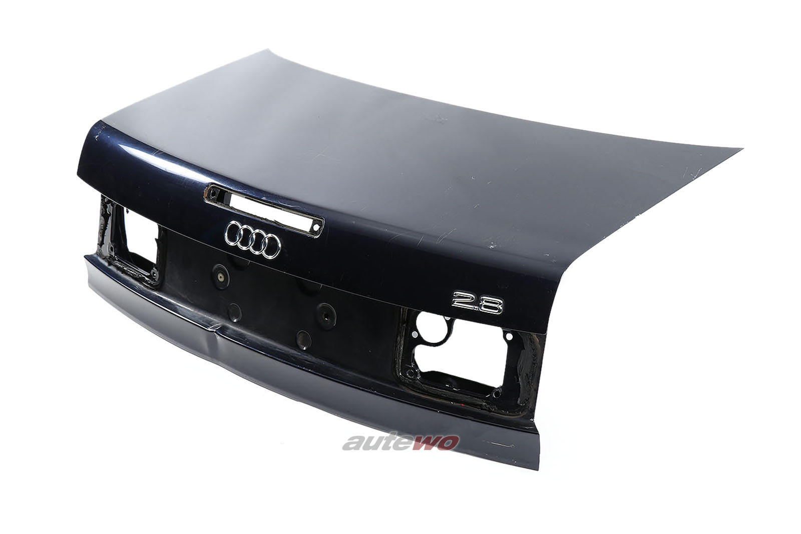 8G0827023G Audi 80 Typ 89 Cabrio Facelift Heckklappe + 3. Bremsleuchte Blau