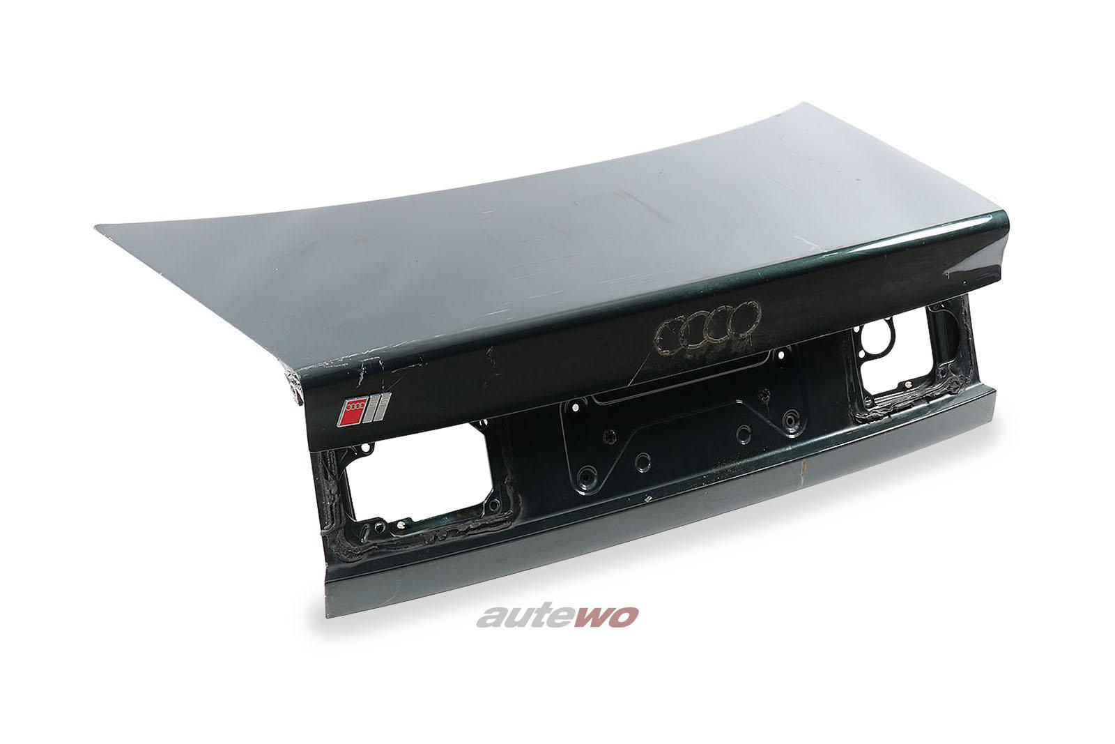 4A5827023E Audi 100/S4/A6/S6 C4 Limousine Heckklappe Grün