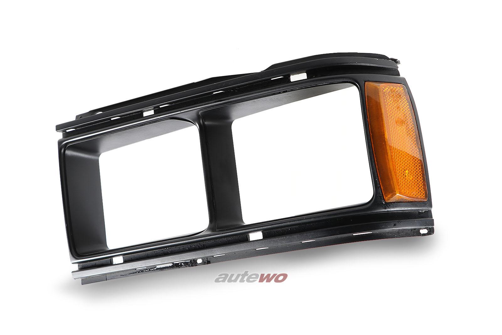 857941625B Audi Urquattro/Coupe Typ 81/85 Rahmen Einzelscheinwerfer Links