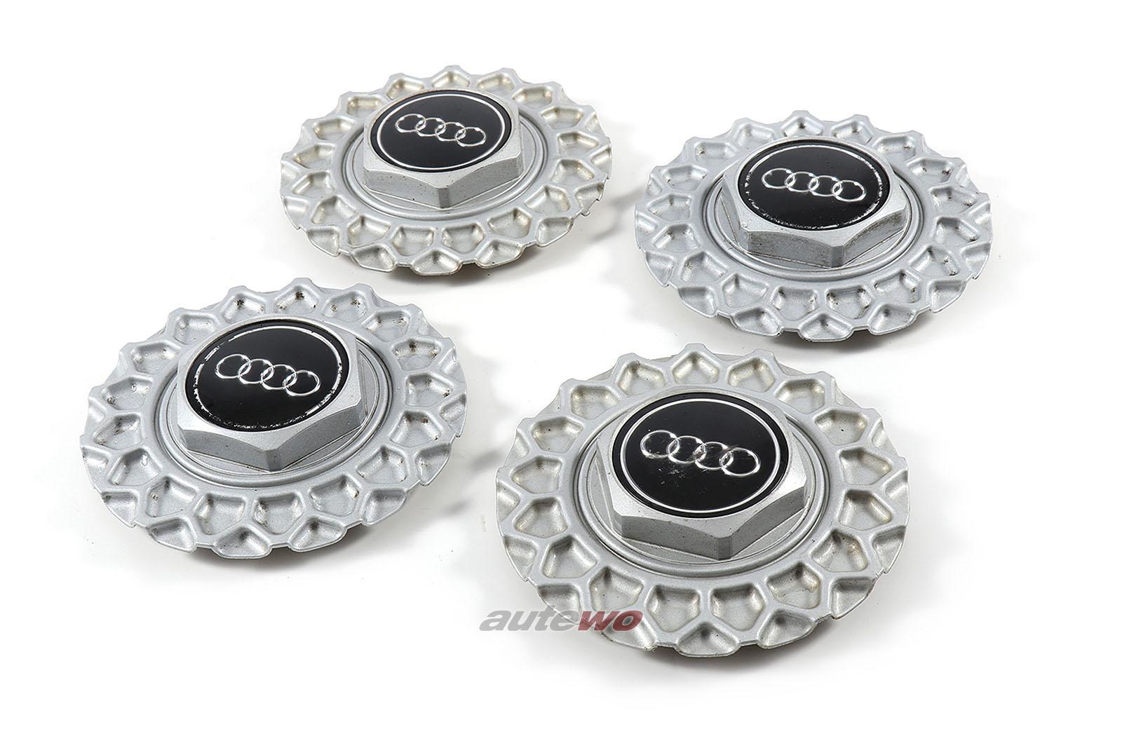 447601165B & 443601153 Audi V8 D11 Set Felgendeckel BBS Kreuzspeichen-Felgen