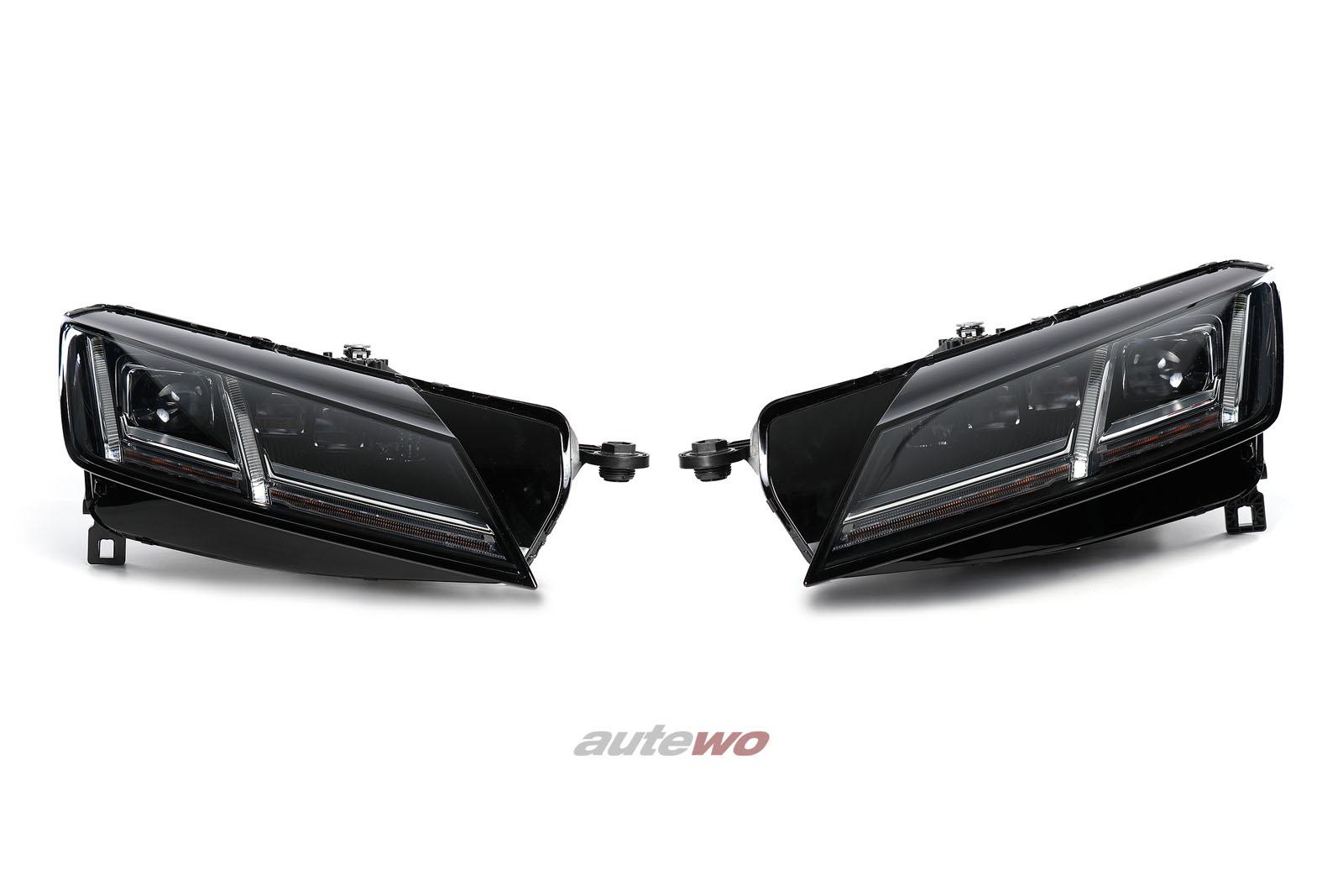 8S0941035/036 8S0941783B/784B Audi TT/TTS/TTRS 8S LED Scheinwerfer Matrix Beam