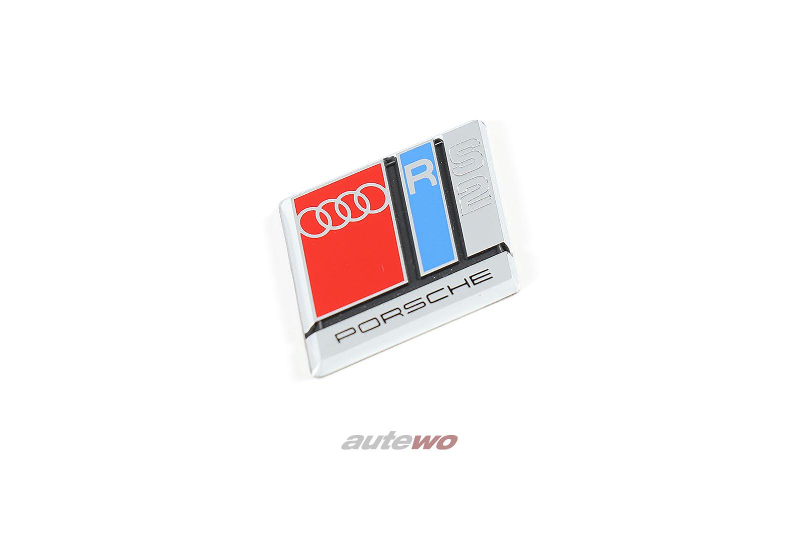 8A0419685C NEU Audi RS2 P1 Plakette/Emblem 3-Speichen-Airbag-Sport-Lenkrad