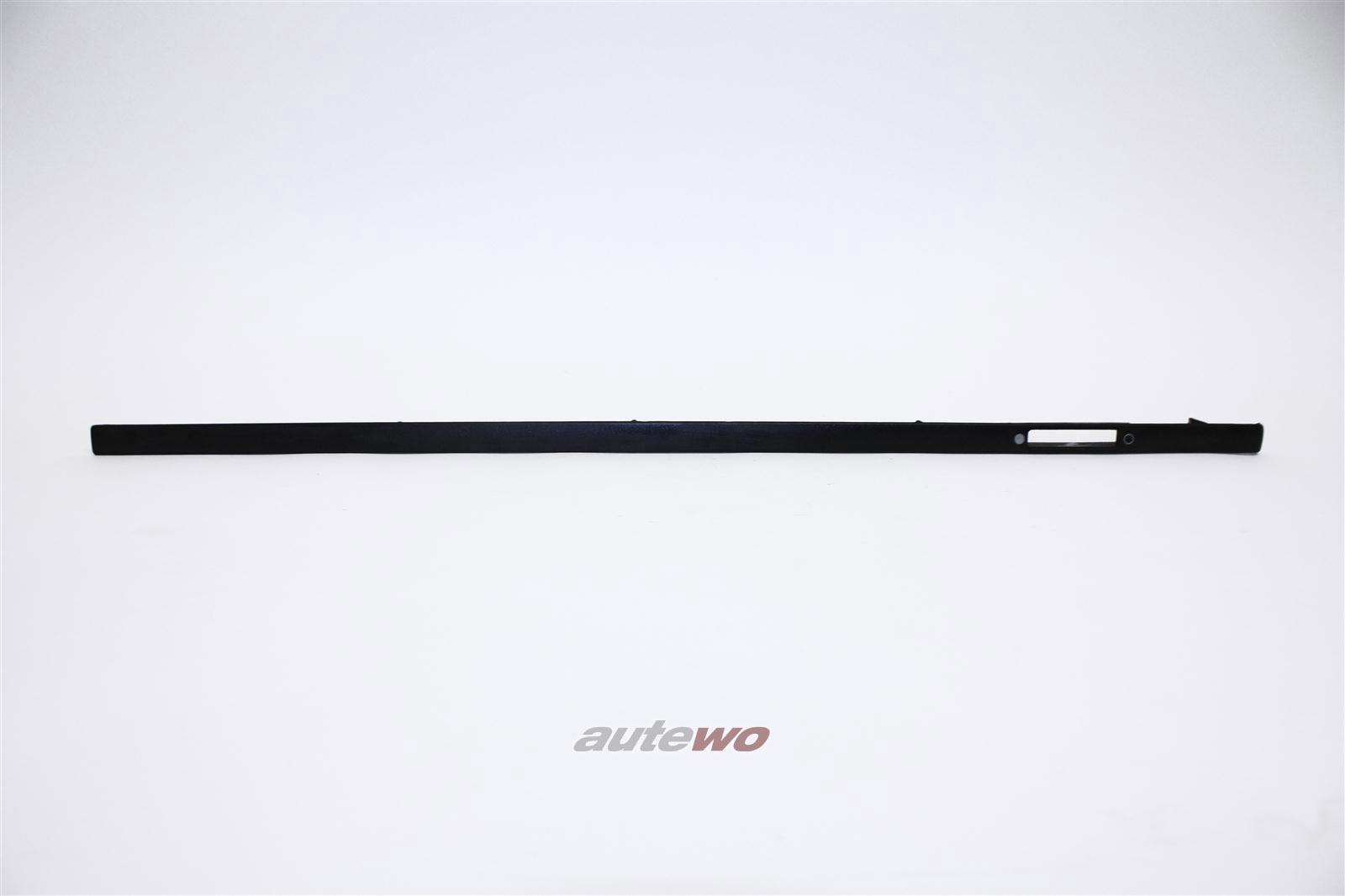 Audi 100/200 Typ 44 Blende Amaturenbrett Mitte/Rechts negro 443853190A