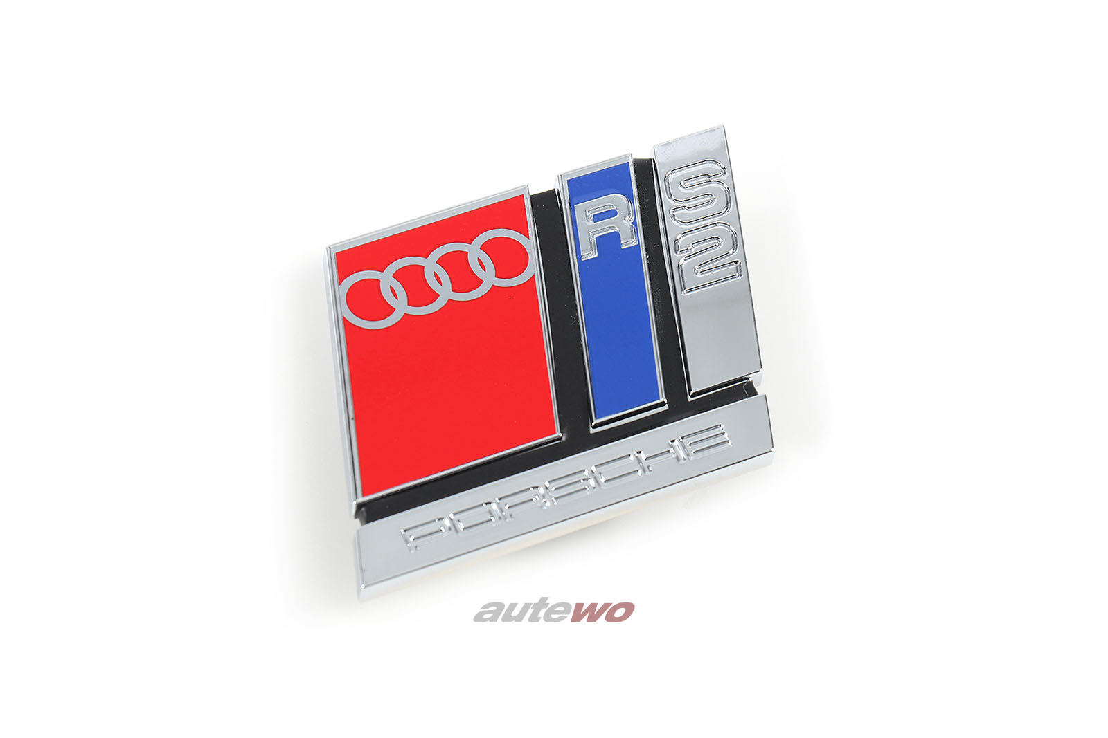 8A0853735B NEU Audi RS2 P1 Schriftzug/Emblem Kühlergrill RS2