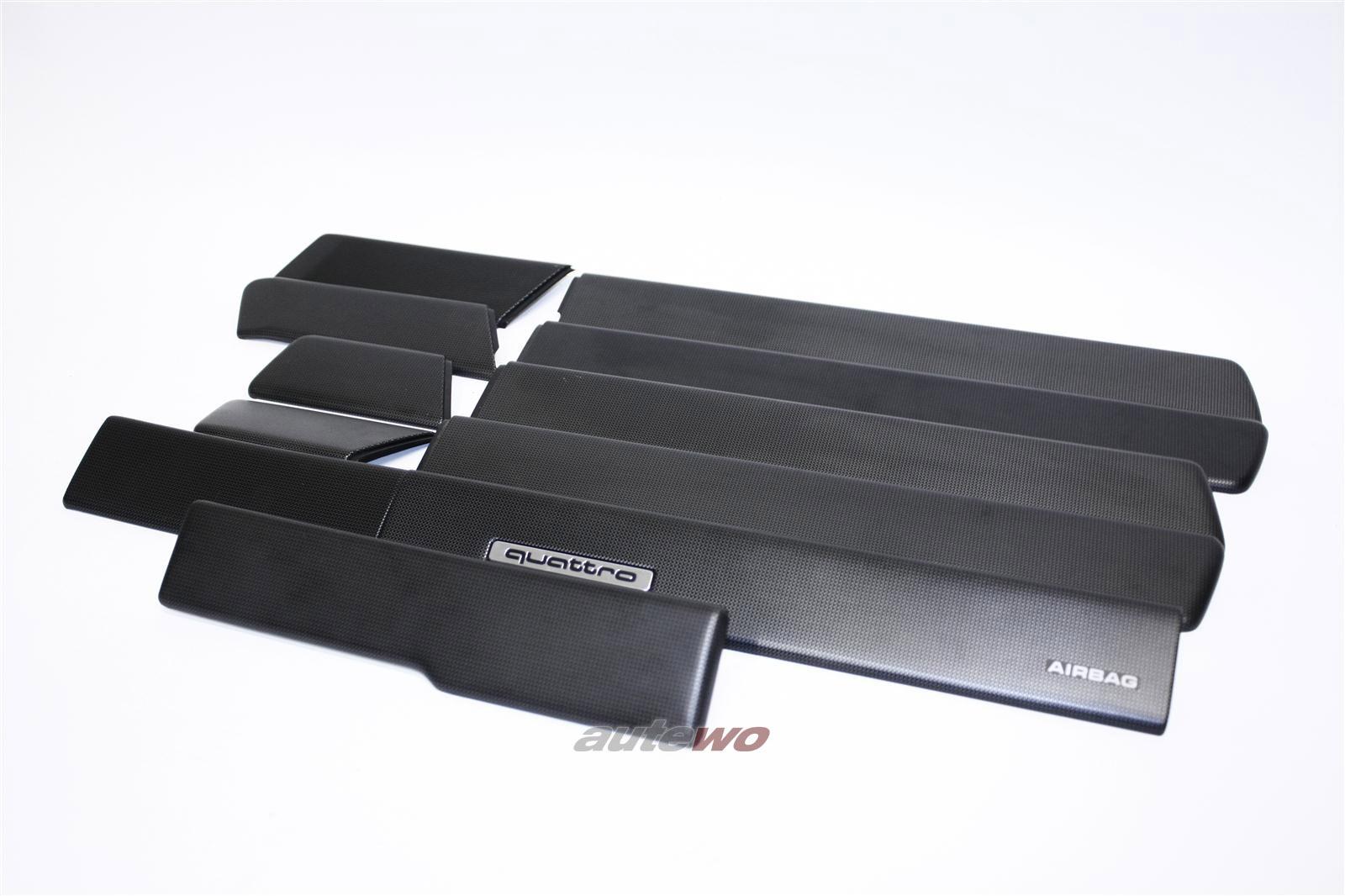 audi 100 a6 c4 zierleisten set t ren amaturenbrett aluminium. Black Bedroom Furniture Sets. Home Design Ideas