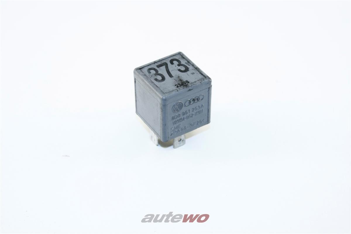 Audi 80/100/A2/A3/A4/A6/A8 Arbeitskontaktrelais 373  8D0951253A
