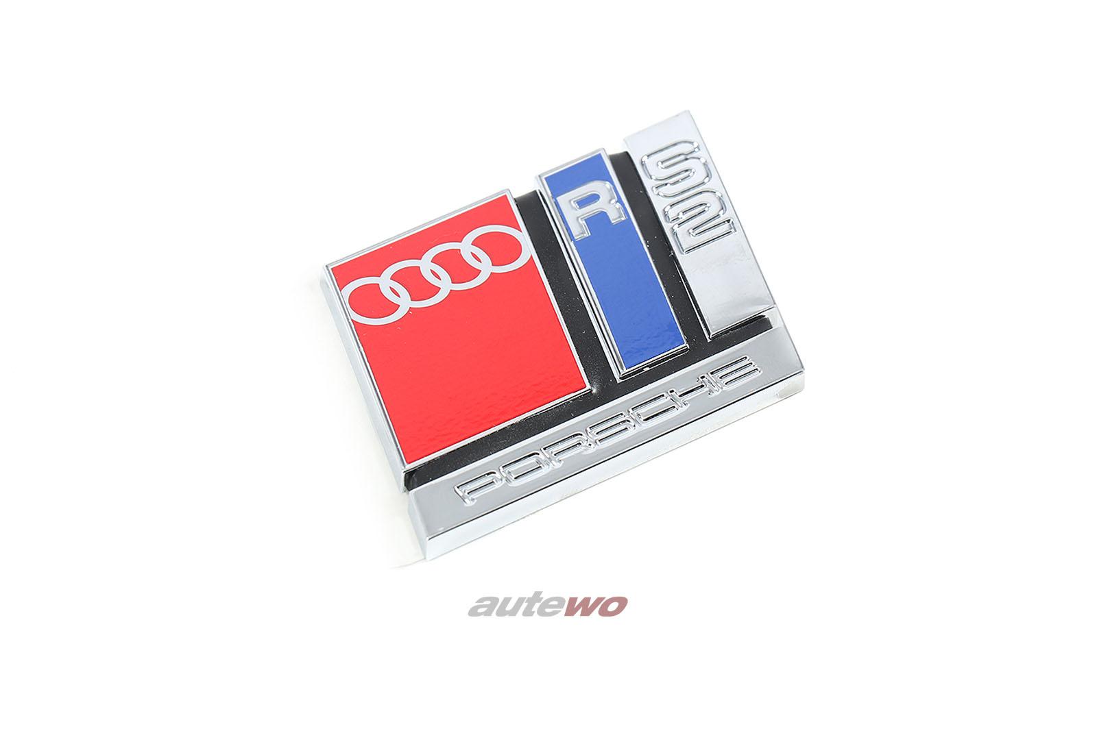 8A0853735A NEU&ORIGINAL Audi RS2 P1 Emblem/Schriftzug Heckklappe