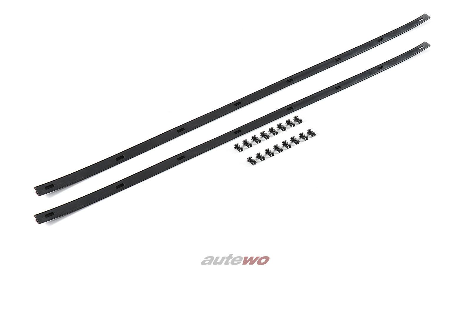 855837477B NEU Audi Coupe Typ 81/85/Urquattro 2x Fensterschachtabdichtungen