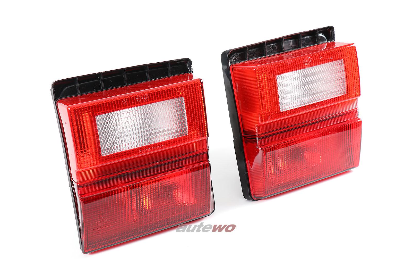 443945225D & 443945226D NEU Audi 100 Typ 44 Sport Rückleuchten Paar Rot