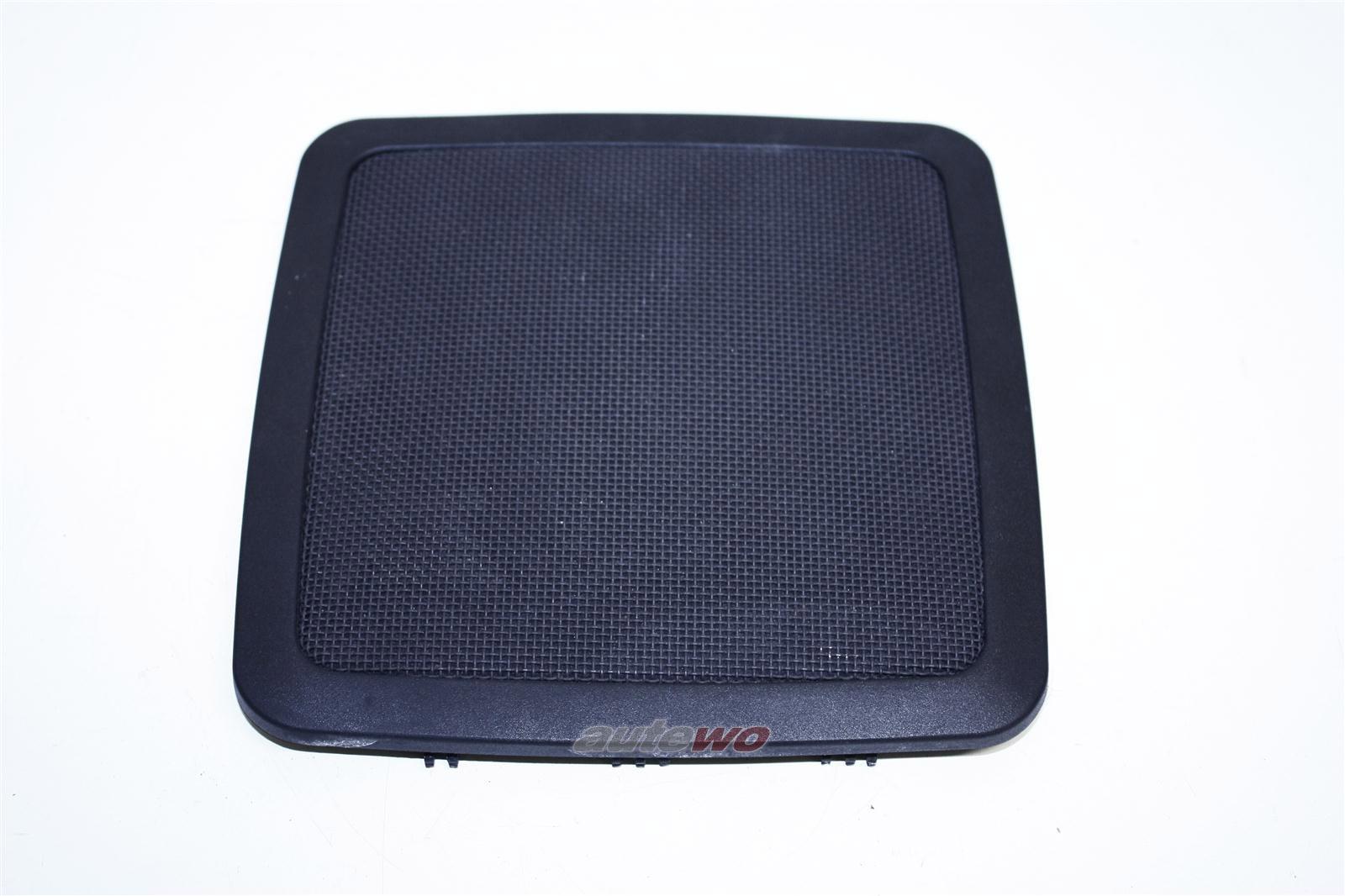Audi 100/200 Typ 44 Gitter Lautsprecher Hutablage Hinten negro 443035407B