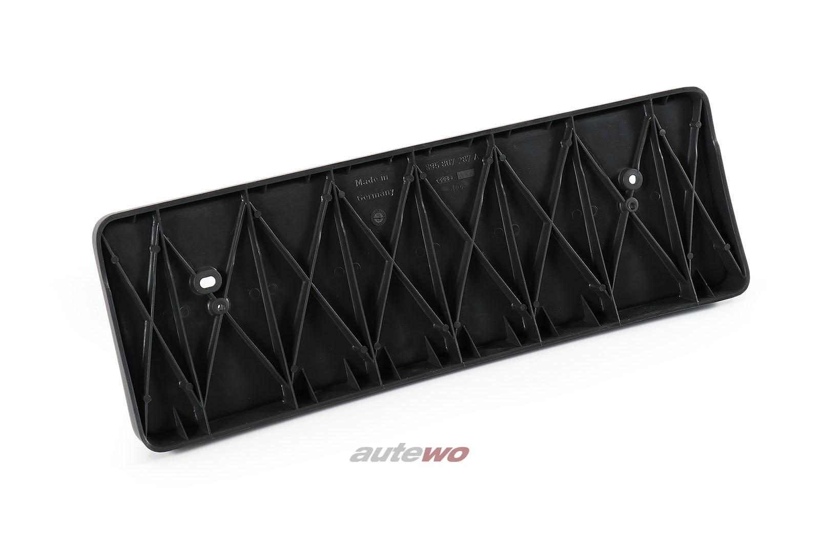 895807287A NEU Audi 80 B4 S2/Coupe/Cabrio 89 US-Kennzeichen-Halter Stoßstange Vo