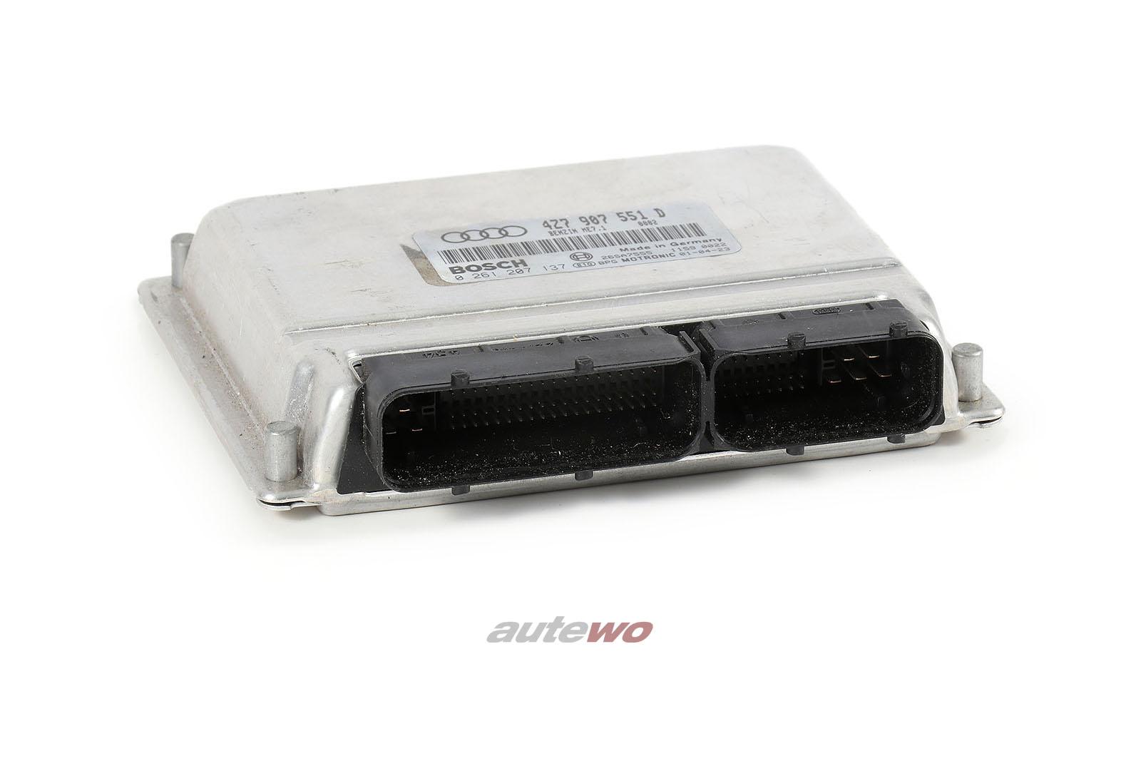 4Z7907551D 4Z7997551DX 0261207137 Audi A6 Allroad 4B 2.7l Motorsteuergerät