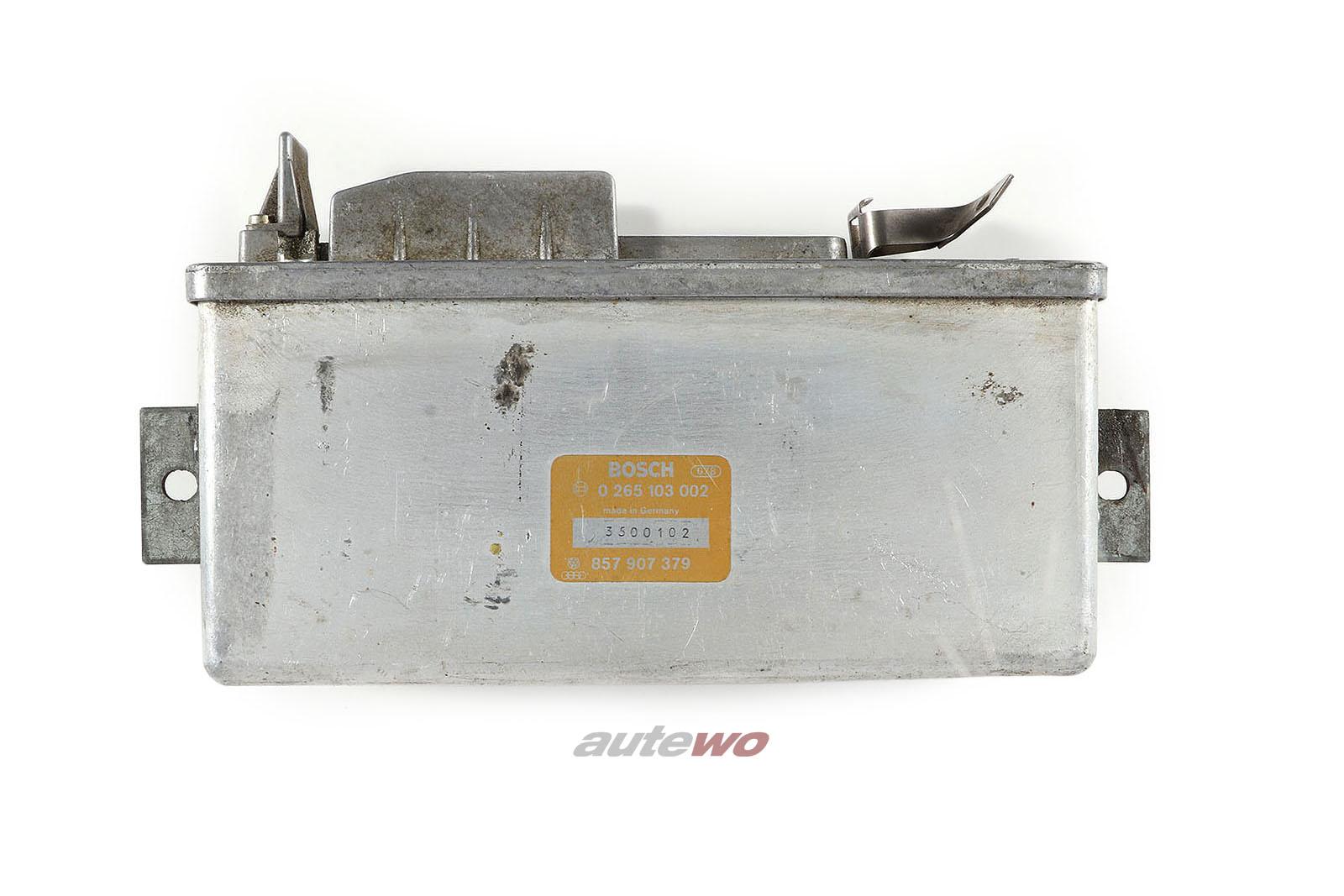 857907379 0265103002 Audi 80/90 Typ 85/Urquattro/200/200 Typ 44 Steuergerät ABS