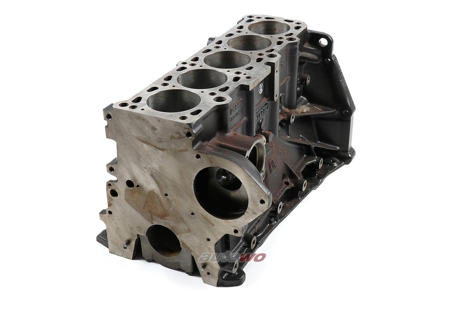 035103021N NEU Audi/VW 80/Coupe 81 1.9l 5 Zylinder WN/WH Motorblock + Kolben