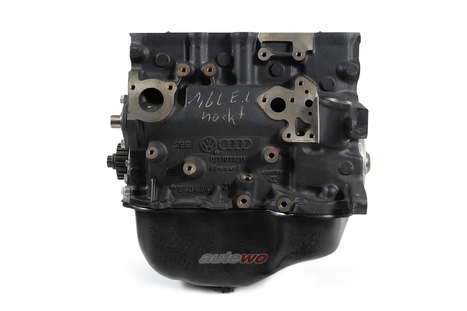 026100104C 026100103PX NEU Audi/VW 80 Typ 81/89 1.6l 4 Zylinder Teilmotor