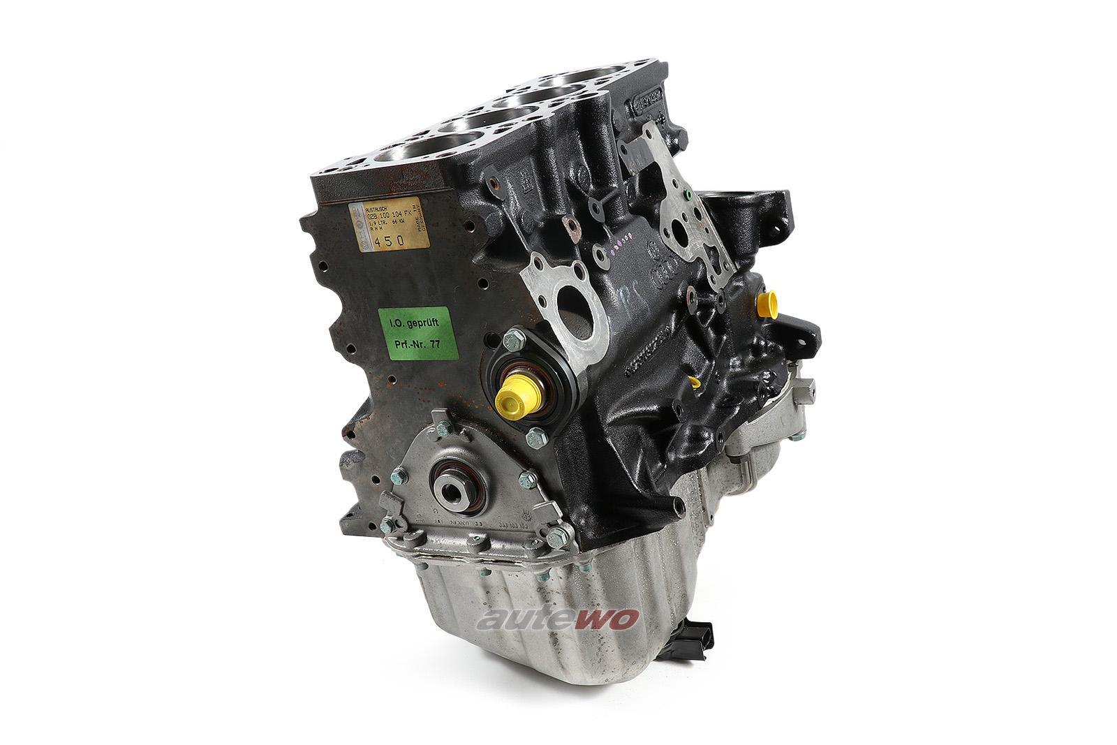 028100104FX NEU Audi A4 B5 1.9l TDI AHH Teilmotor komplett