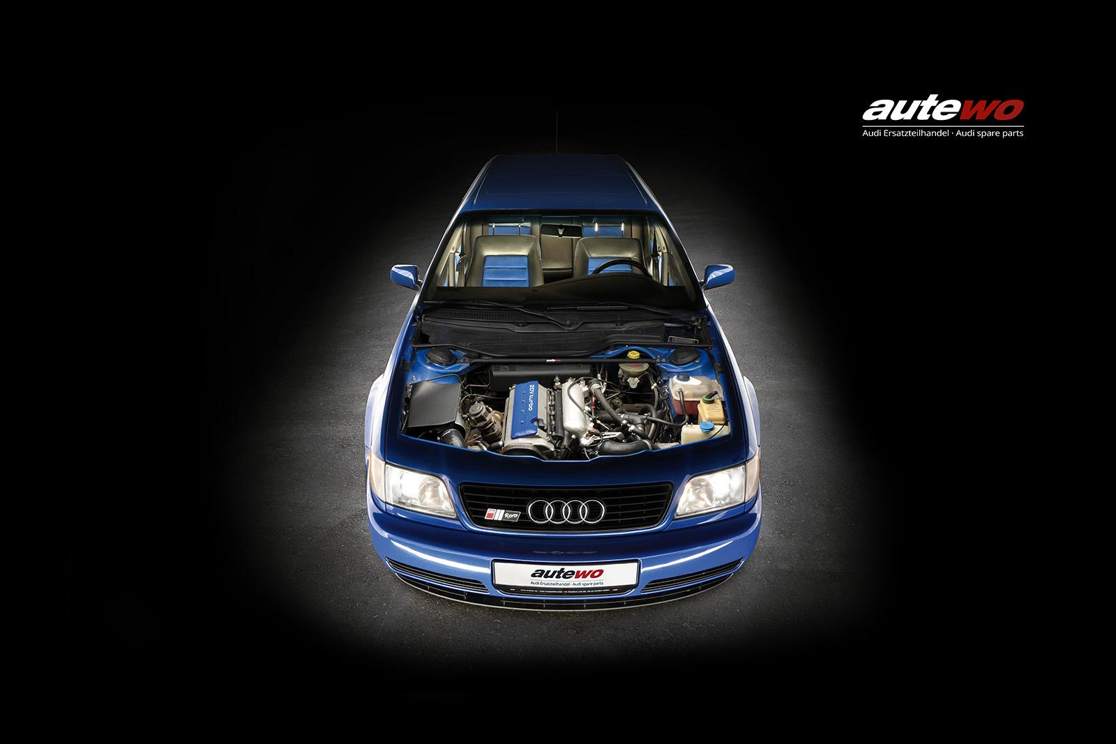 Leinwand-Druck Motiv Audi S6 C4 Avant REVO S SMS Holzkeilrahmen 40x60cm