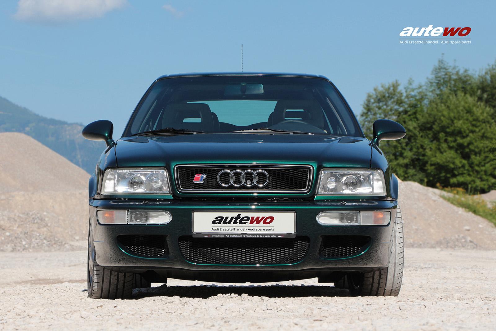 Leinwand-Druck Motiv Audi/Porsche RS2 P1 Holzkeilrahmen 40x60cm