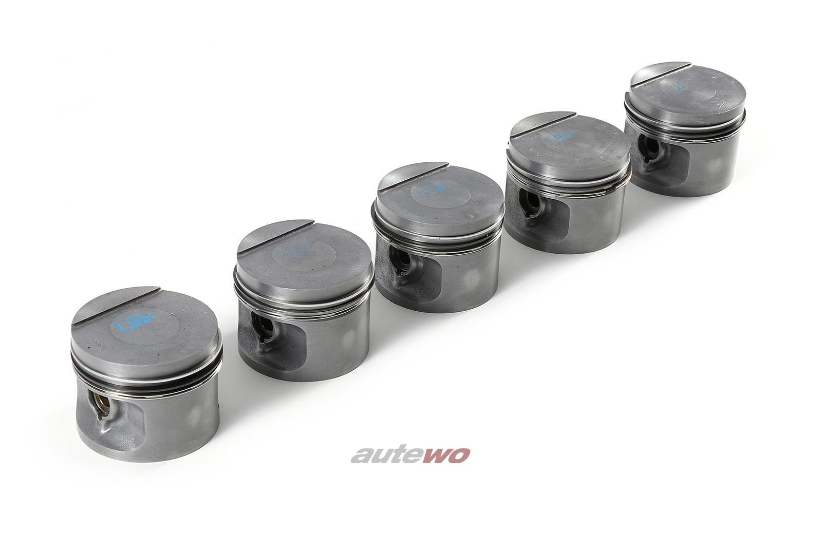 034107065H NEU Audi/VW 90/Coupe 81/85/100 44 2.0l 115PS 5 Zylinder Satz Kolben