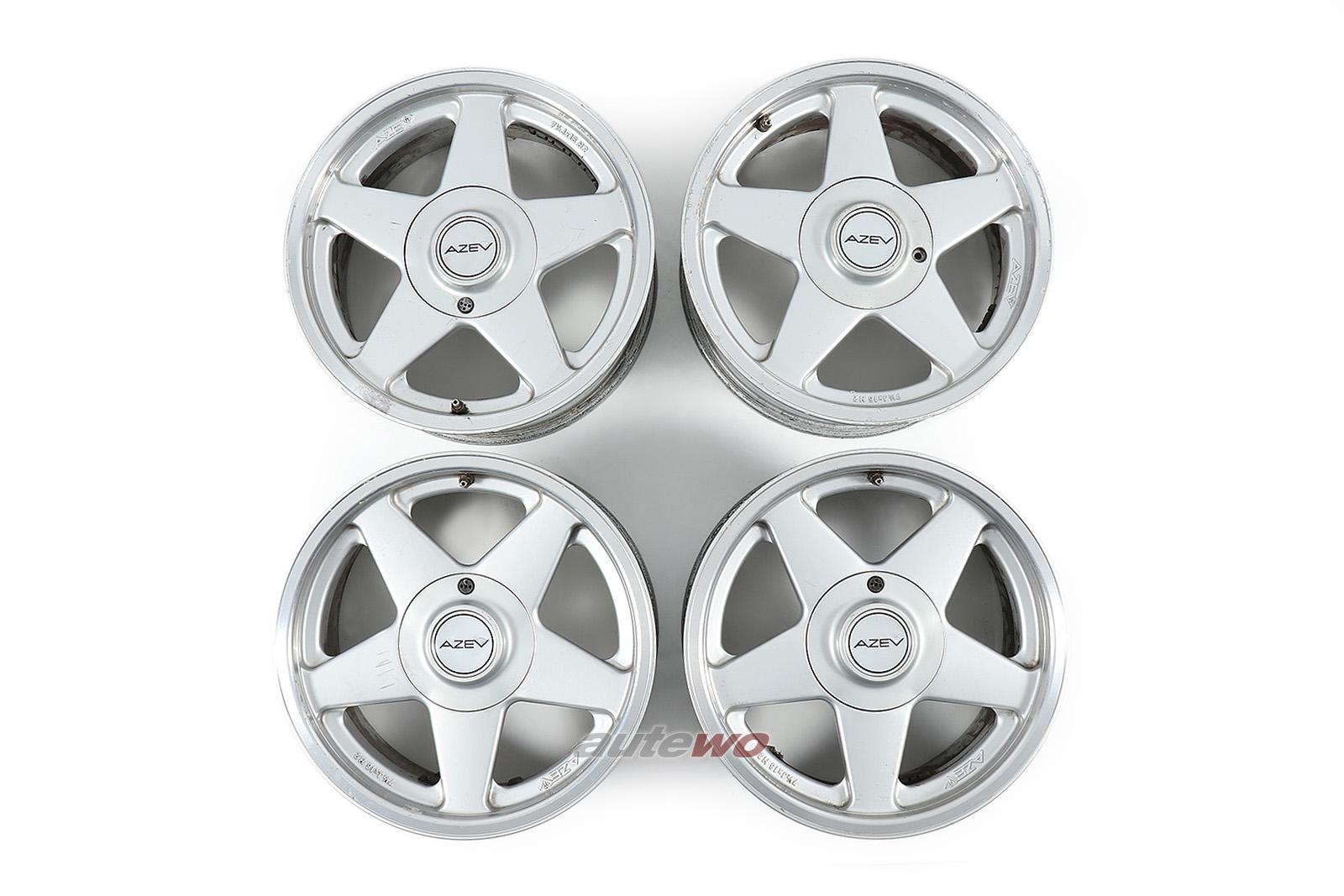 AZEV A Alufelgen 7,5x16 ET30 5x112 für Audi Urquattro/Coupe 89/S2/100/200 44/C4